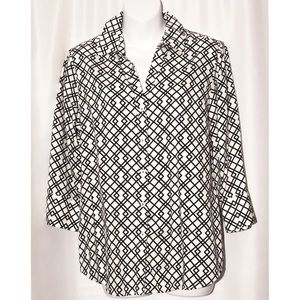 FOXCROTH - Black and White Shirt